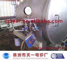 hi temperature vacuum furnace for brazing, sintering usage, industrial furnace