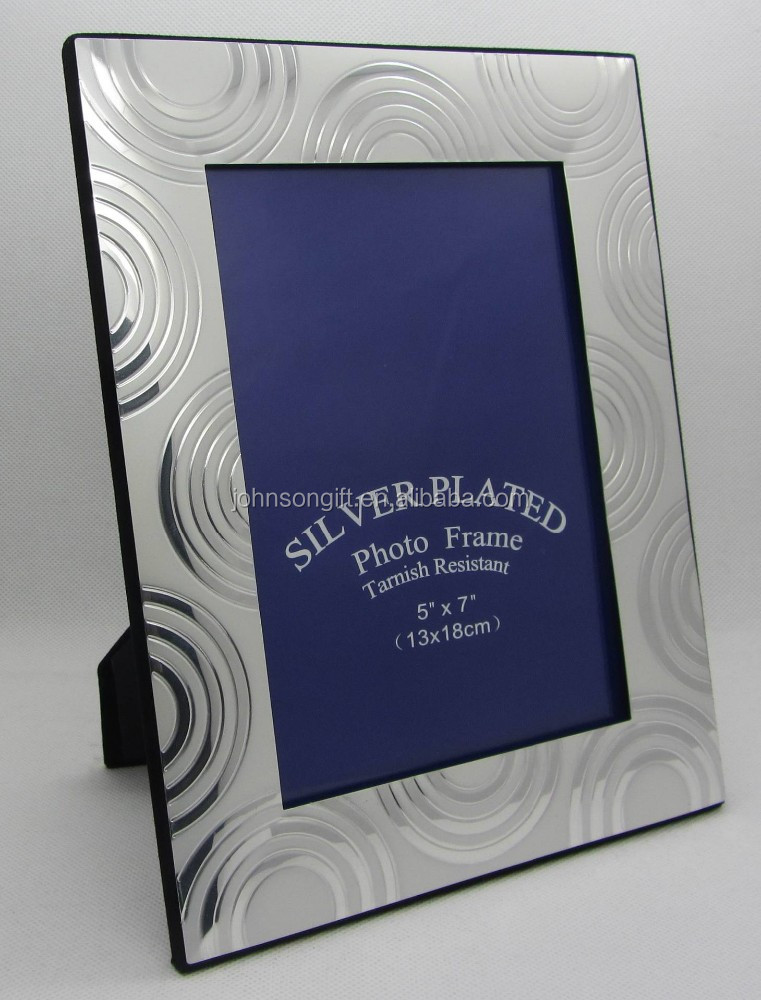 Wholesale bulk silver plated elegant curving aluminium 4x6 for Cheap a frames