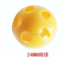 28mm plastic baby rattle,plastic sounds ball,plastic bell