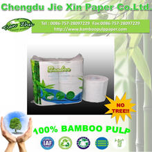 100% bamboo pulp Eco-friendly Toilet Tissue Whith High Quality,4 Rolls pack