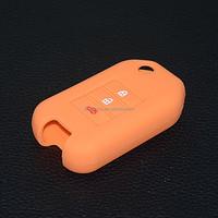 No logo 3 button remote key shell for 3 buton honda remote control case silicon