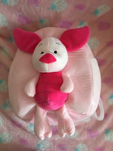 Plush stuffed children's kid's pig backpack toys soft children's animal bee backpack