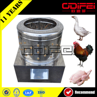Commercial automatic chicken plucker, chicken plucking machine