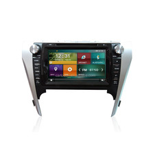 1080P capacitance touch screen car dvd player gps navigation car radio for Toyota Camry 2012