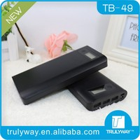 3 USB ports output power bank charger 20000mAh with LCD display from Trulyway