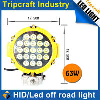 63W LED OFFROAD WORK LIGHT TC-0963-63W aurora Offroad Led Work Light