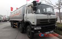 260hp 8*4 dongfeng aceite de camión cisterna de combustible 30m3 camión de transporte