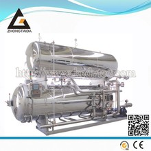 Double Layer Water Immersion Retort For Chicken Legs