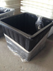 Outdoor plastic square trough for sale China direct manufacturer