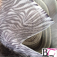 zebra printed 3D air spacer sandwich mesh fabric for motorcycle seat cover,car seat cover fabric,mattress and chair spacer