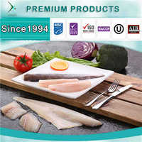 BRC, MSC, AIB, HACCP, ISO Certification Customized icelandic Haddock