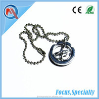 2015 New Design Decorative Metal Small Necklace Pendant Jewelry Charm