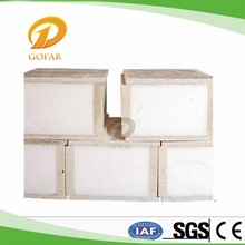 Non combustible MgO SIP installation manual sandwich panel
