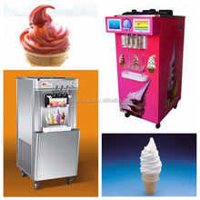 Chinese famous brand cold stone ice cream machine with low investment and high efficient