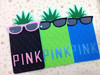 3d silicone rubber tablet case for iPad mini fruit pineapple case