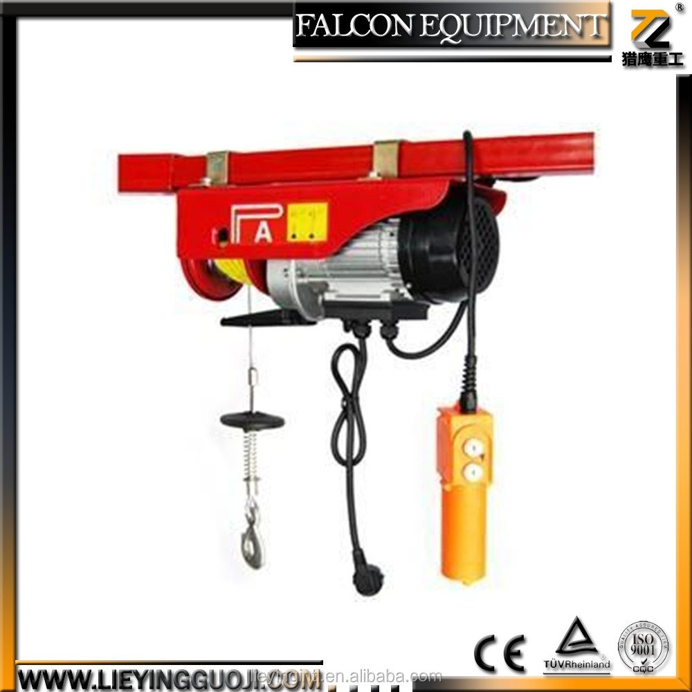Mini Electric Motor Overhead Garage Hoist Cable Lift