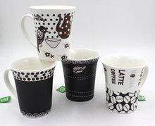 Custom Mug Printed ceramica Mug , Porcelain Cup , Espresso cups / mug