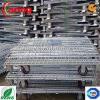 galvanized steel pallet with wheels