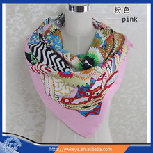 New Arrival Brand Design Silk Big Square Scarf Printed,Women Silk Scarf,China Style Handkerchief 90*90cm