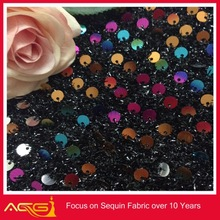 Mesh Embroidered Sequin Fabric wedding Wholesale China Manufacturer decorative screws and bolts