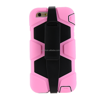 Newest design factory price PC+TPU silicone mobile phone case
