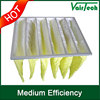 Air conditioning paper bag filter fresh air pleated air filter