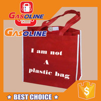 Promotional durable laminated foldable reusable gift pp non woven shopping bag