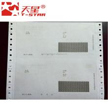 Bank bonausdruck papier thermopapier in blatt mit logo