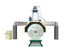 QJS220-II hydraulic automatic bridge diamond disc rock cutting saws machine
