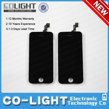Top sale item for apple iphone 5gs touch panel lcd china, accept paypal