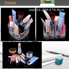 Vertical lipstick Acrylic Cosmetic Organizer Clear