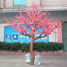220V colorful light flaring christmas led tree