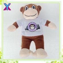 hot sale wholesale new products cartoon toys cute plush monkey,plush monkey