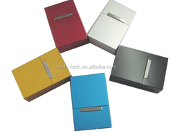 OEM RED 20pcs aluminum cigarette case supplier