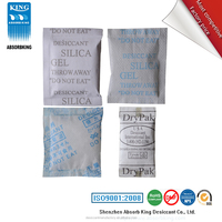 shenzhen hot selling super dry desiccant food grade silica gel desiccant