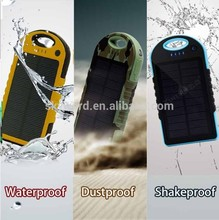 Travel-specific 12000mah solar powered decorative cell phone charger