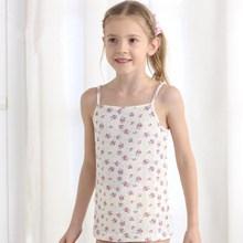 2015 young girl underwear vest only render condole belt unlined upper garment sleeveless