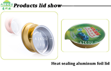 Latest Aluminum Foil Container For Jam&Honey Cup Sealing