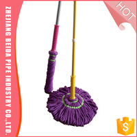 ,360 spin twist mop microfiber with steel handle metal stick LOW PRICE