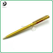 Hotel Twist Metal Slim Pen with DHL logo JD-SL025