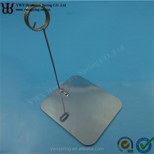 customized sheet metal stamping part business card holder paper clips
