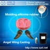 moding two component silicone rubber for art frame, casting resin