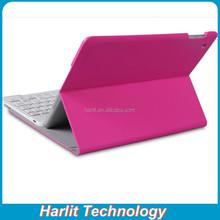 Leather Case Multi Functional Bluetooth Keyboard For iPad mini , Folio Bluetooth Keyboard With Leather Case For iPad mini