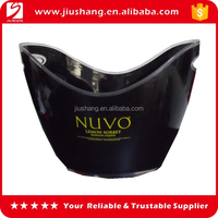New personalized boat shape plastic ice bucket