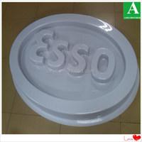 Screen print OEM plastic round vacuum forming PMMA light box
