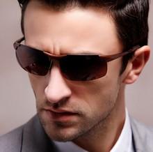new 2015 Polarized sunglasses aluminium magnesium alloy sun driving glasses 8177 male cycling Polarized High-end sunglasses