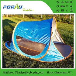 2 Person Man Instant Pop Up Beach Tent Easy SetUp In Seconds Shelter