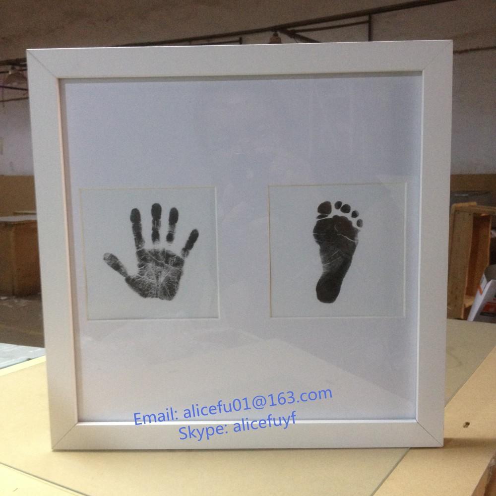 Al por mayor del bebé recién nacido handprint y huella Kit de marco ...