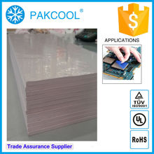 010 PAKCOOL thermal conductivity thermal gap filler pad