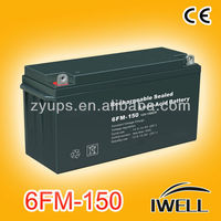 12v Inverter Maintenance-Free Inverter Battery 12v 150ah Cheapest